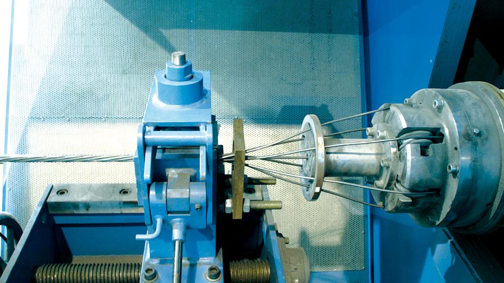 Линия для изготовления стальных арматурных прядей P.C.